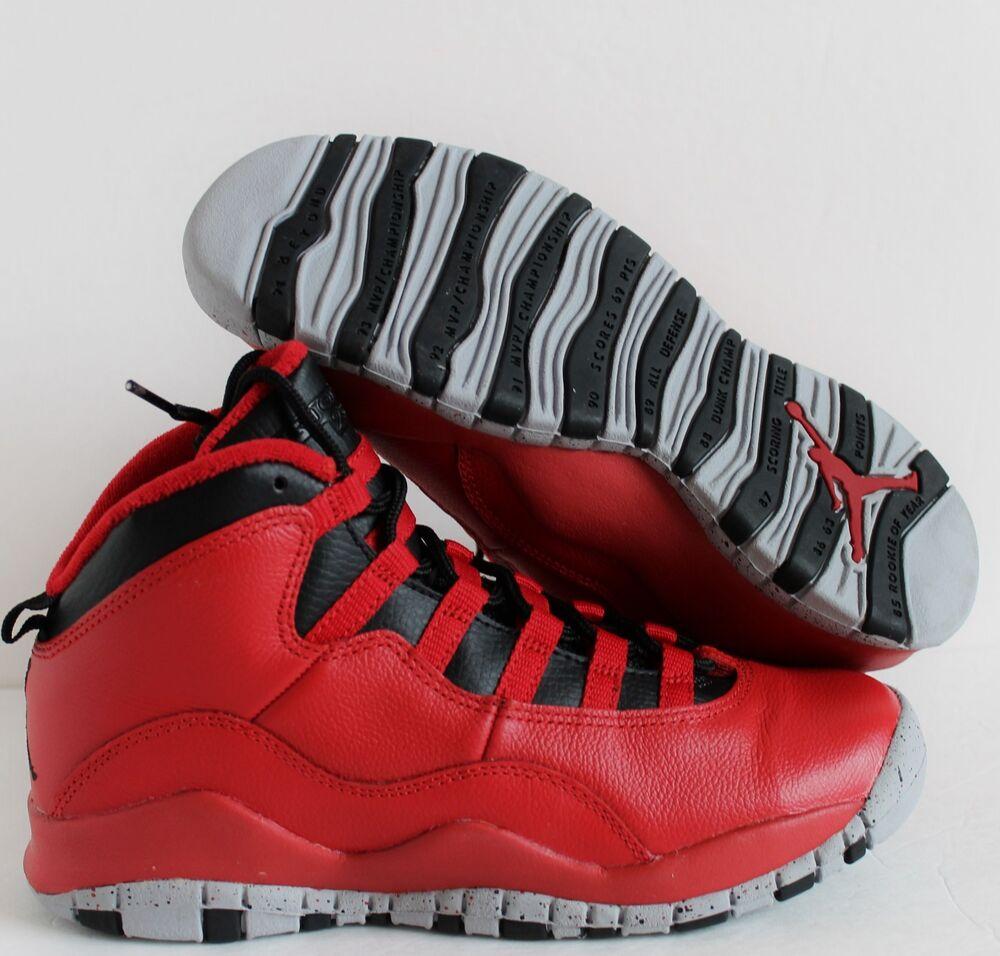 NIKE AIR JORDAN 10 RETRO 30TH BG BULLS BROADWAY  Chaussures de sport pour hommes et femmes