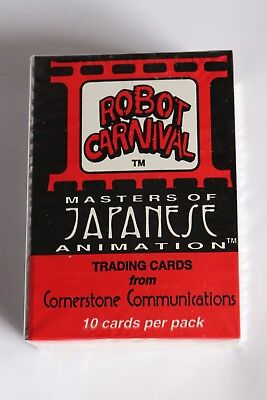 Set Of Trading Cards Selected Material Conscientious Robot Carnival Masters Of Japanese Animation Cornerstone
