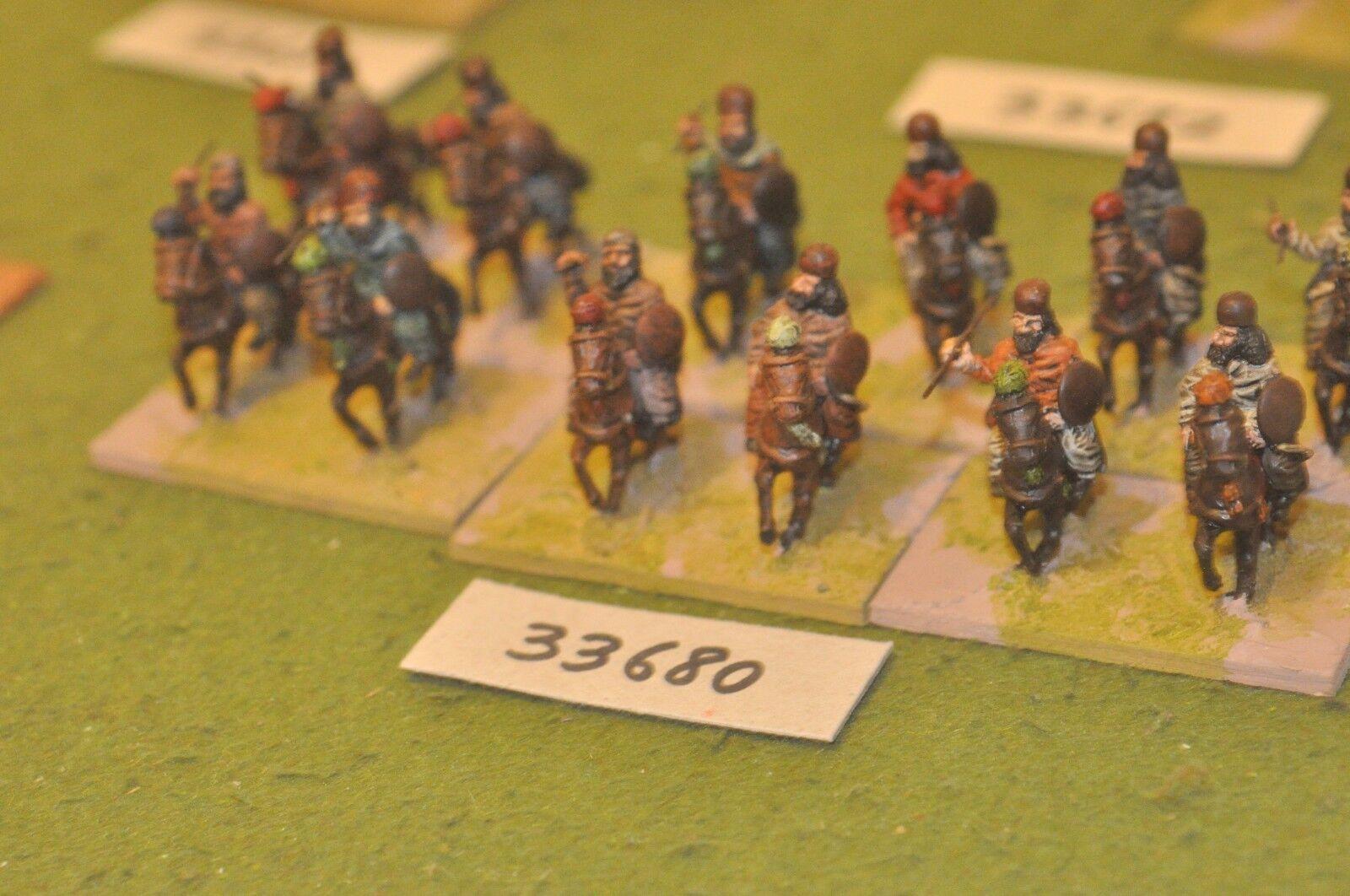 25mm roman era   sassanid persian - light 12 figures - cav (33680)
