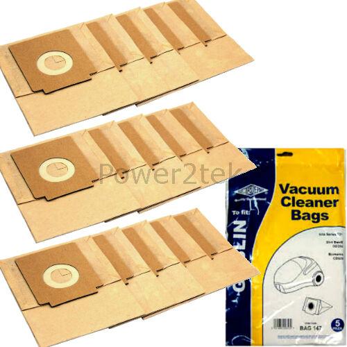 15 x 72 dust bags for Sainsburys BS7702 aspirateur