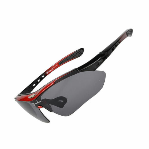 RockBros Cycling Outdoor Riding Polarized Glasses Sunglasses Goggles 5 Lenses