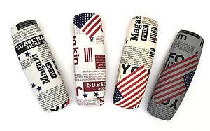 C31-Magazine-Newspaper-Design-Spectacle-Reading-Glasses-Cases-U-S-A-Flag-Pattern