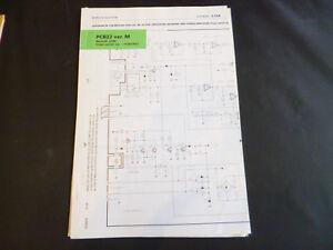 Original-Service-Manual-Correction-Bang-Olufsen-PCB22-ver-M-Beolab-2500