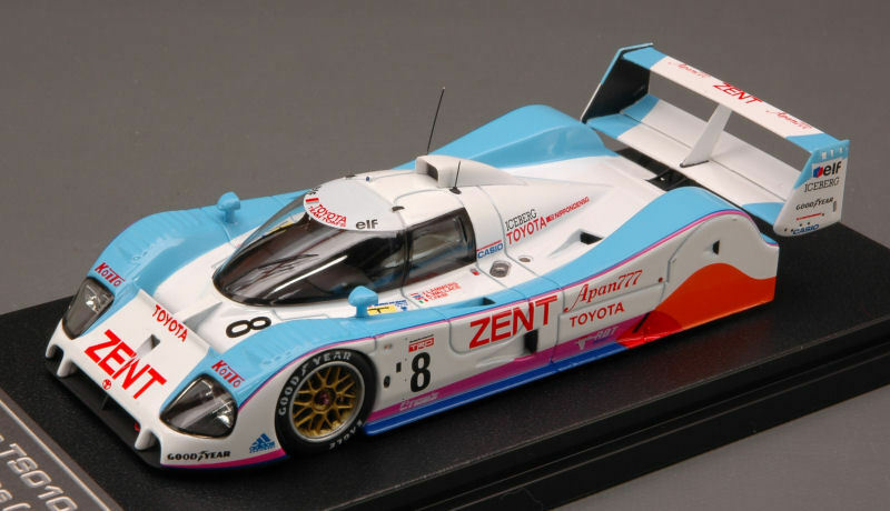Toyota Ts010  8 8th Lm 1992 Lammers   Wallace   Fabi 1 43 Model 8566 HPI RACING