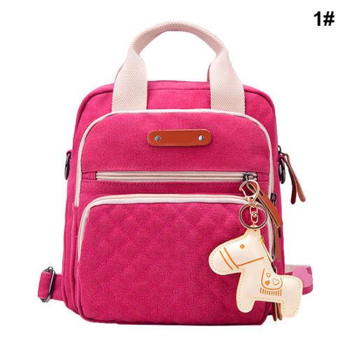 New Multi Mummy Backpack Handbag Tote Shoulder Bags Baby Nappy Diaper Bag Hot