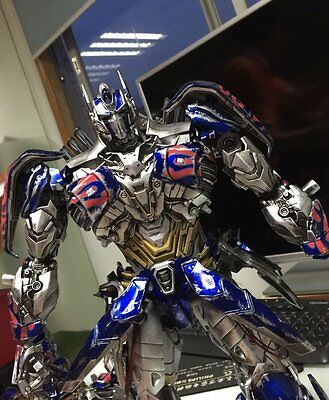 Comicave 1//22 Transformers 5 Optimus Prime Black Head Carving 2 Replacement Face