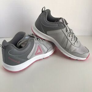 NEW-IN-BOX-Reebok-Girls-Athletic-Running-Training-Shoes-Almotio-4-DV8704-Size-4