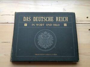 Altes Buch Das Deutsche Reich In Wort und Bild Gustav ...