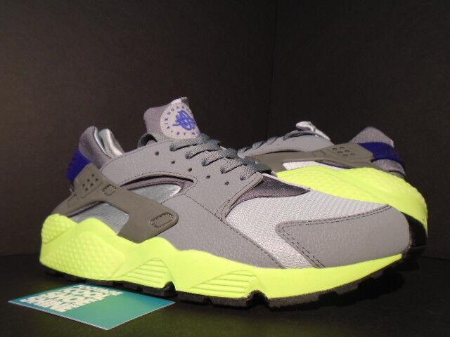 on sale 9231e 2ebec Nike Men's Wolf Grey Air Huarache Running Shoes 318429 004   eBay