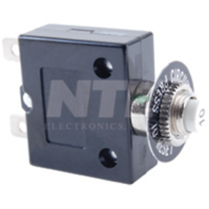 "NTE Electronics R58-2A THERMAL CIRCUIT BREAKER 2A .250/"" QC TERMINALS"