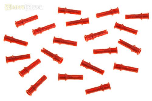 20x LEGO® Technic 32054 Pin 3L mit Stopper rot NEU