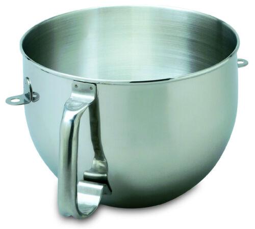 NUOVO KitchenAid Ciotola per Mixer con base in acciaio inox 6-QT KN2B6PEH W10111702