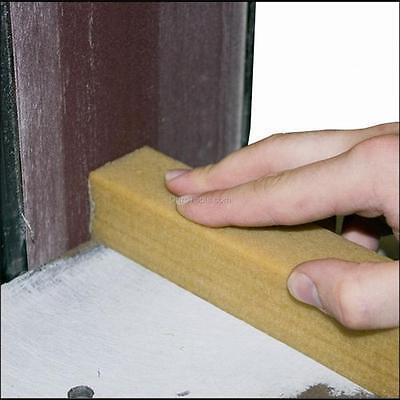 Sand Paper Sanding Belt Abrasive Cleaner Sticks, 1.5 x 1.5 x 8 inch or 18 CUI