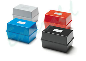 Card-Index-Record-Box-Boxes-5x3-6x4-or-8x5-Sizes-Colour-Choice-Fast-Dispatch