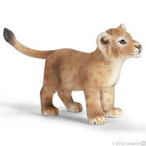 NEW-SCHLEICH-14364-Lion-Cub-African-WildLife-Wild-RETIRED