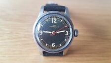 RARE 1950'S MLT ORIS BLACK DIAL MANUAL WIND MID SIZE WATCH