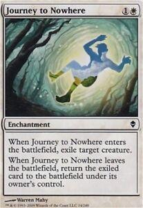 LP Zendikar Magic the Gathering MTG *Journey to Nowhere X4* Playset