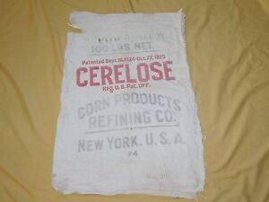 VINTAGE-32-034-X-22-034-CERELOSE-CORN-PRODUCTS-REFINING-CO-NY-FEED-SACK-EMPTY