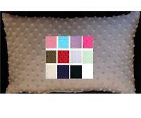 Minky Dot Pillow Case Toddler Or Travel Pillow Cover