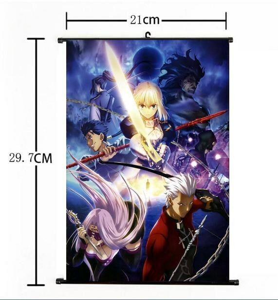 Fate//stay Night Fate Zero Saber Lancer Movic Rubber Strap Keychain Keyring LY