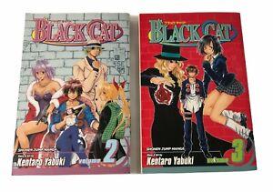 Black-Cat-Manga-Vol-2-amp-3-Shonen-Jump-Kentaro-Yabuki-Books-English