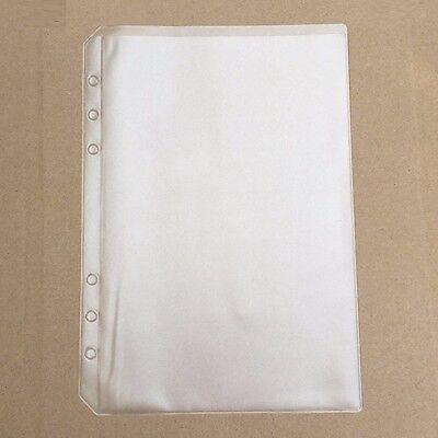 A5 Size Top Open Plastic Envelope Document Storage Insert Refill Organiser #JP