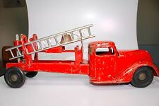 SCARCE TURNER TOYS VINTAGE 1930'S FIRE TRUCK W/ HARD TO FIND CAB