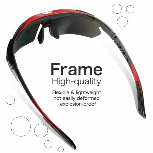 Photochromic Cycling Glasses MTB Eyewear Goggles Polarized Bicycle Sunglasses