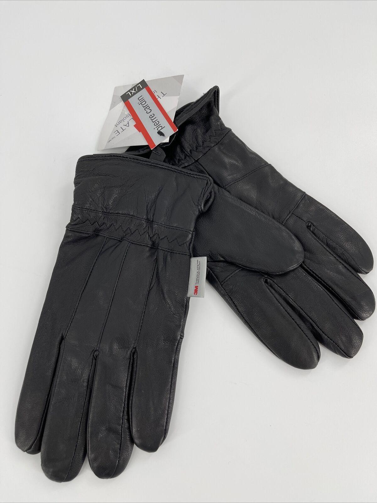 Pierre Cardin Winter Gloves Men's Gloves Size L/XL Insulated Ski 3M New #63