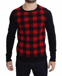 E Maglione Tondo Nero Xxl Nuovo Rosso National Lana It54 Costume Collo C q8X4tz
