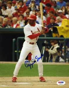 OZZIE-SMITH-PSA-DNA-Certed-Autograph-8x10-Photo-Hand-Signed-Authentic