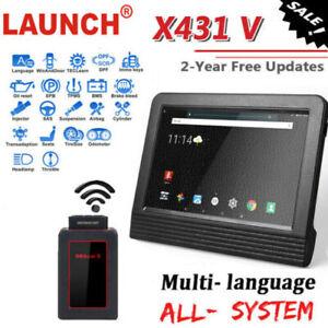 Premium-LAUNCH-X431-V-Auto-Car-OBD2-Engine-Diagnostic-Scanner-EOBD-Scan-Tool
