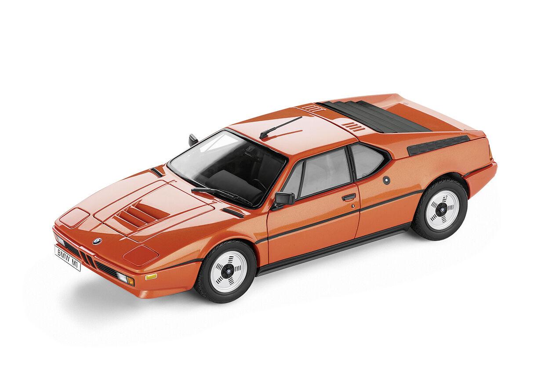 ORIGINAL BMW M1 Heritage 1 18 Miniatura Coche a escala NUEVO   embalaje original