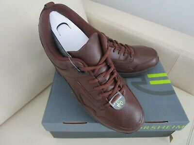 Brown Kore Fuji Leather Lace Up