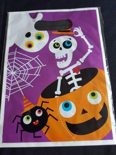 Straws Invites small postage Napkins Bag Halloween-Purple Party Range