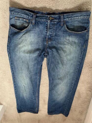 50 Men Authentic 100 Denim Trousers Article Rare Gucci Size Jeans qgUwRXR