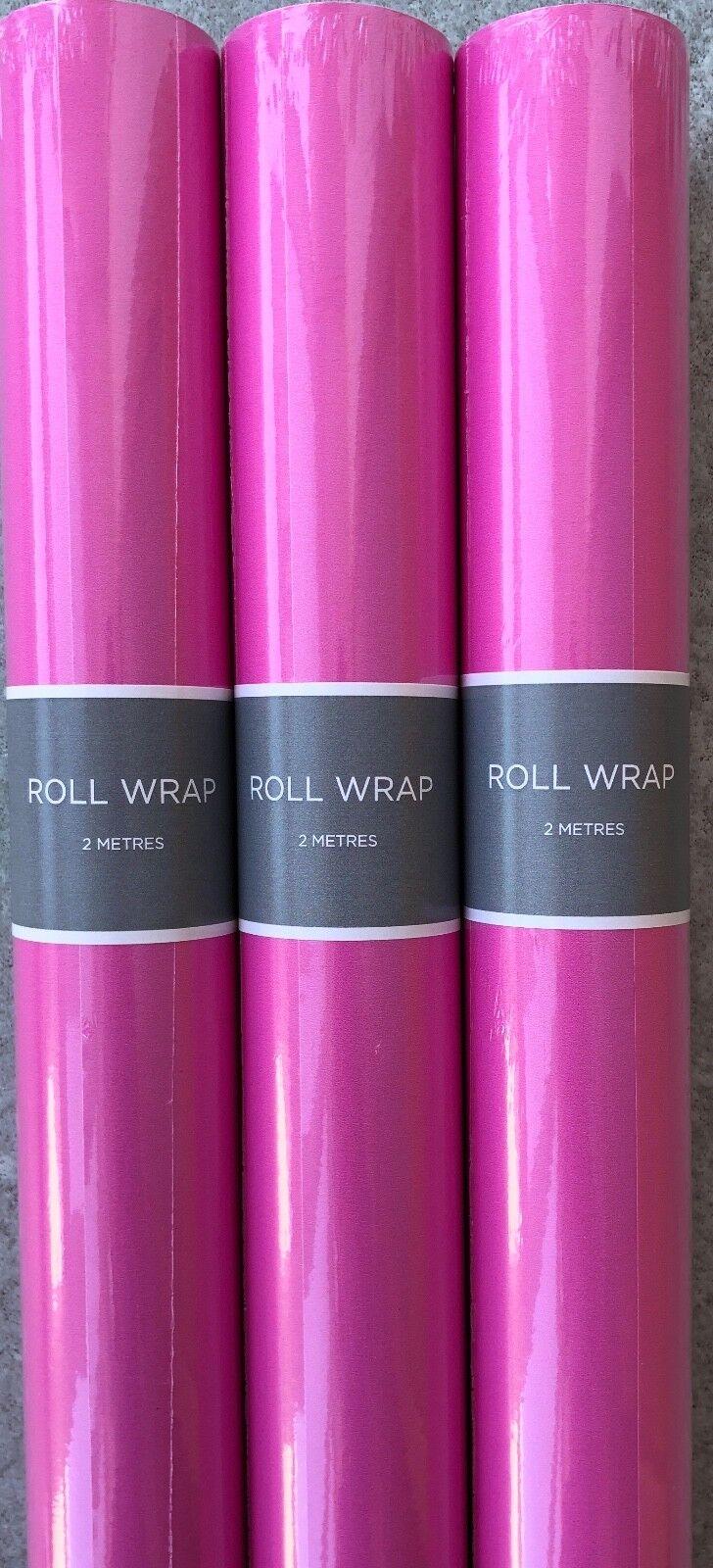 Hallmark Rose Papier Cadeau Rouleaux 2 96 Mètres-Largeur 70 70 Mètres-Largeur cm-Royal Mail chenilles dcb87f