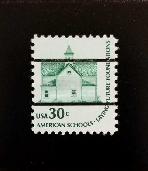 1979 30c American Schools, Future Foundations, Precance