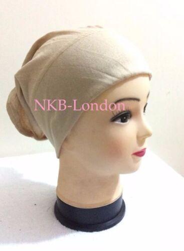 Under Scarf Cap Hijab Scarf Tube Bone Bonnet Chemo Hair Wrap