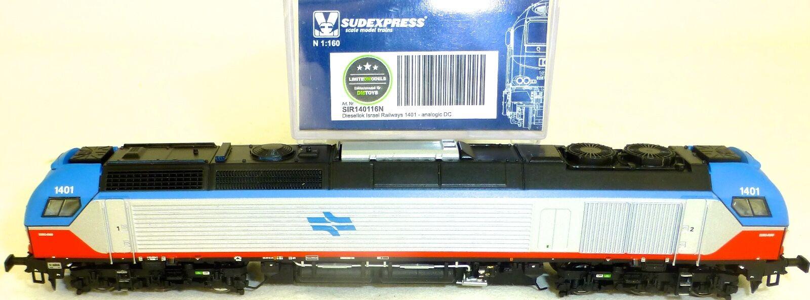 Israël 1401 Railways Locomotive diesel analogue SIR140116 N 1 160 å
