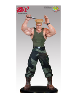 Street Fighter  Guile Championship Edition Statue Used