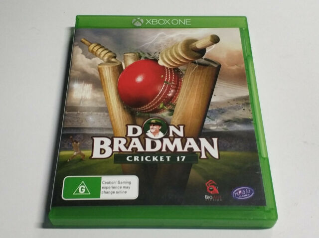 Mint Disc Xbox One Don Bradman Cricket 17 Free Postage