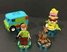 LEGO le dimensioni del Team Pack SCOOBY DOO Scooby-Doo! 71206