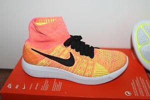 sports shoes 09016 8e370 Das Bild wird geladen Nike-WMNS-Free-Lunarepic-Flyknit-Damen-Lauf-Schuh-