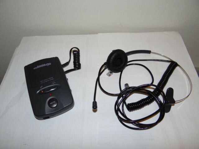 PRACTICA by PLANTRONICS A100 Mono HEADSET with BASE AMPLIFIER TELEPHONE SYSTEM