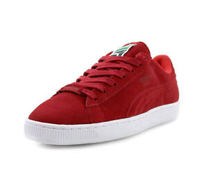 outlet store 1094b 6a446 Details about Puma Mens Suede X Trapstar Shoes Red/White 361500