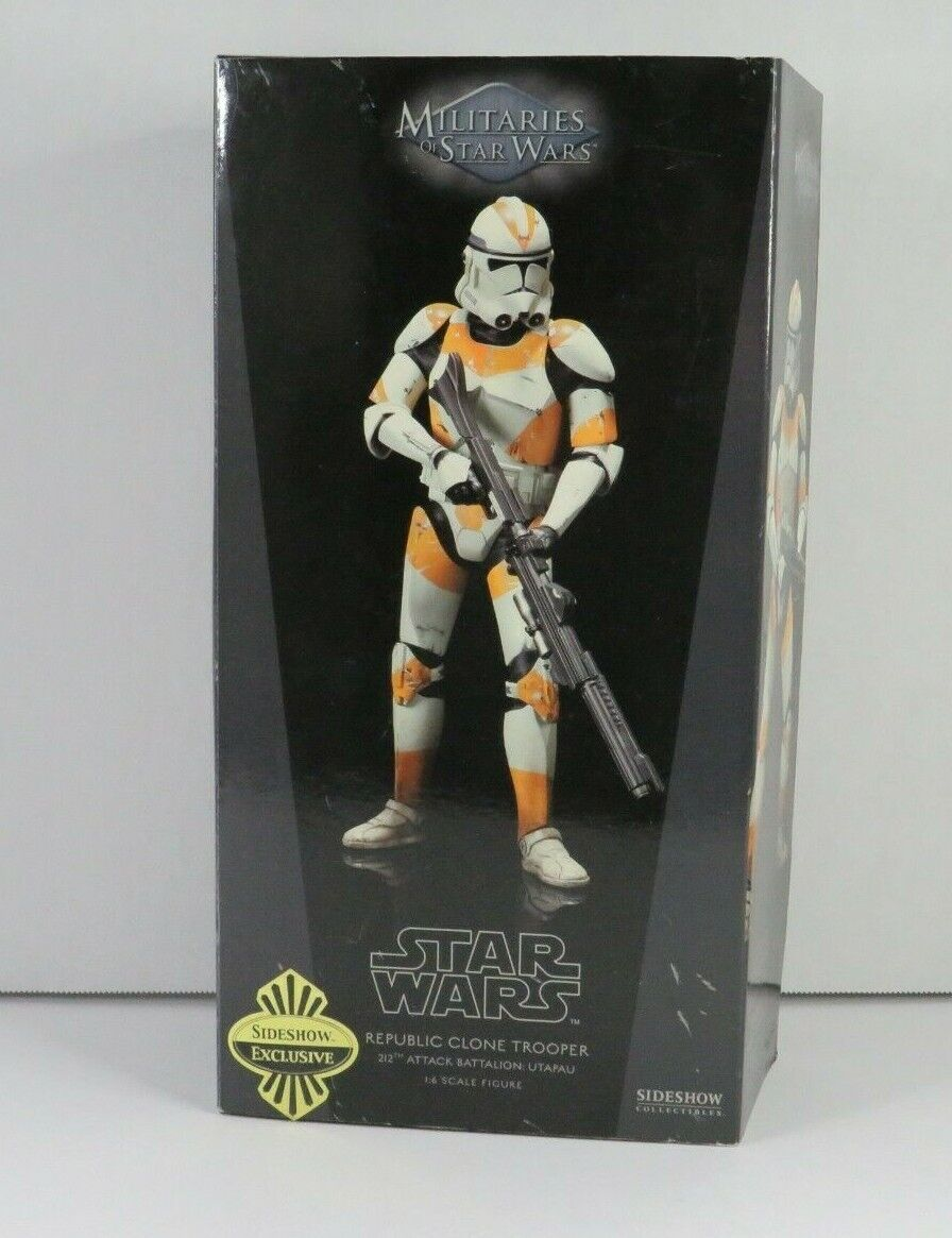 Republic Clone Trooper 212th STAR WARS SIDESHOW Collectibles 1:6 Scale MIB on eBay thumbnail