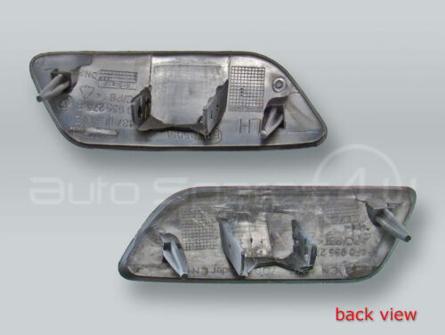 Headlight Washer Covers Caps PAIR fits 2009-2011 AUDI A6