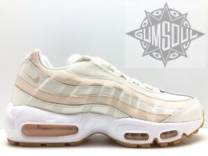 new product 1a260 e1b0e Image is loading WOMEN-S-NIKE-AIR-MAX-95-OG-SAIL-