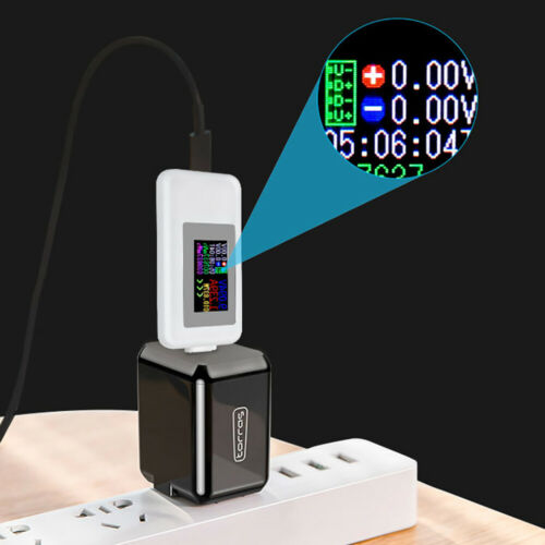 Type-C USB Volt Current Voltage Doctor Charger Capacity Testers Meter Power